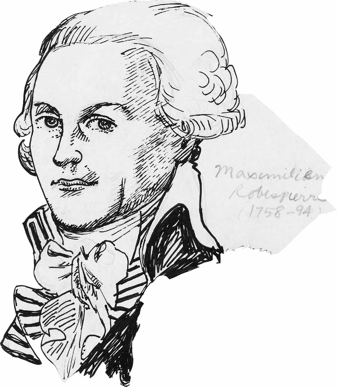 pen portraits-Robespierre | Bennythomas's Weblog