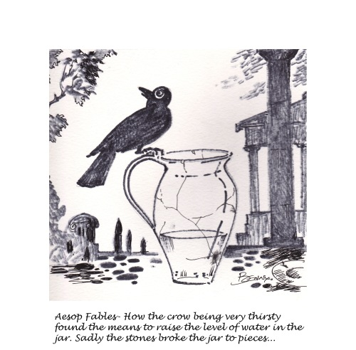 the crow and the jar