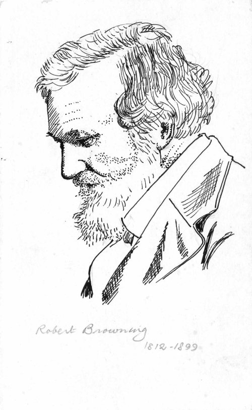 Pen Portraits-Robert Browning