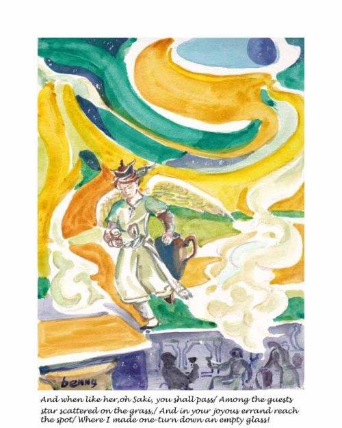 Rubaiyat #101-fifth ed. Illustration