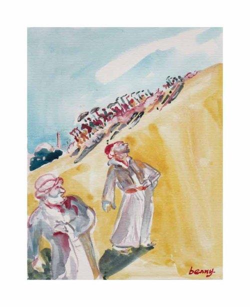 Omar Khayyam Illustration:quatrain#9