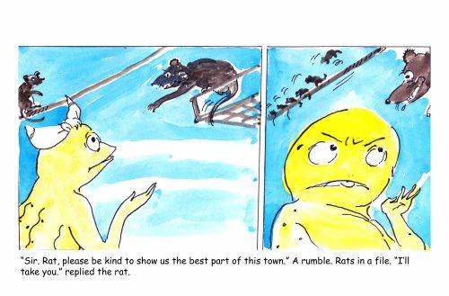 Half Half-comic strip