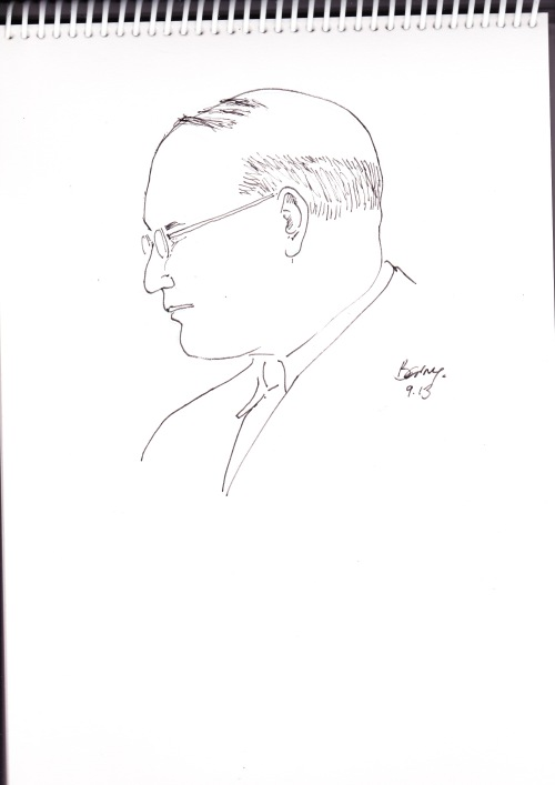 Pen Portraits- Dietrich Bonhoeffer