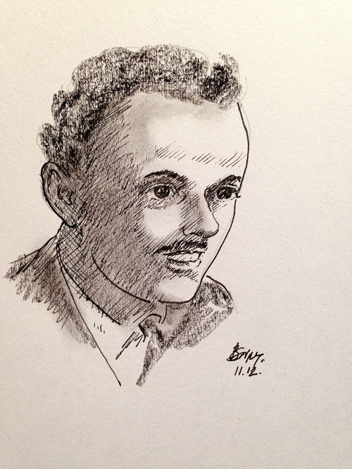 Pen Portraits-Paul Dirac