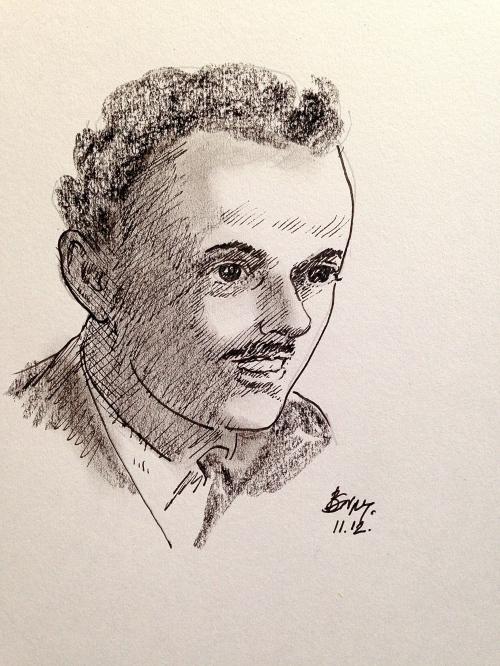Pen Portraits-Paul Dirac