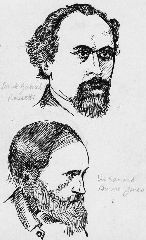 Victoriana-pen portraits