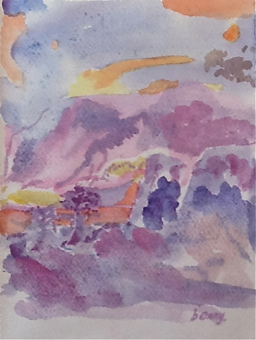 Sunrise-watercolor
