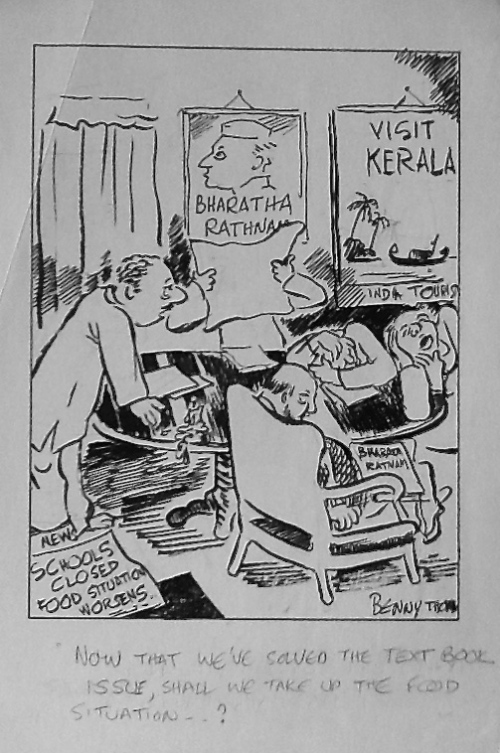 The India That Was-2 cartoons