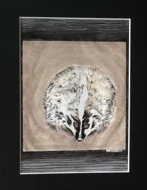 Badger-after Beth van Heusen