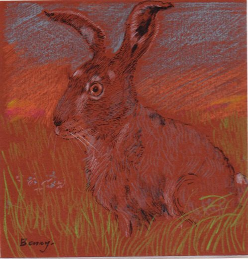 A Hare-pastel (repeat)