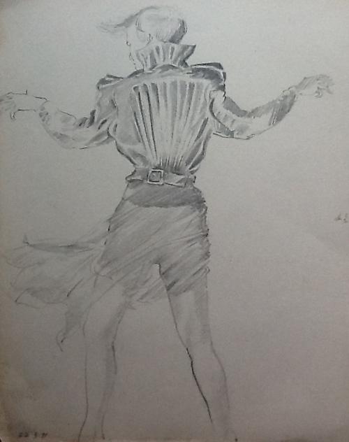 A sketch-graphite